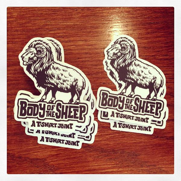 BOFS stickers