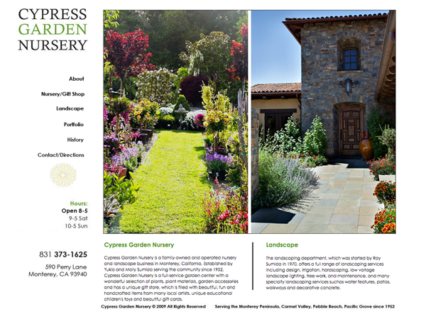 Cypress Garden Nursery Maximum Impact Design