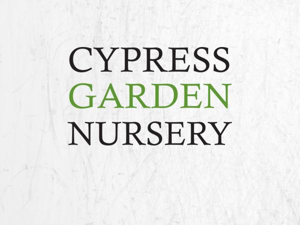Cypress Garden Nursery Logo