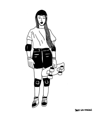Judi Oyama illustration
