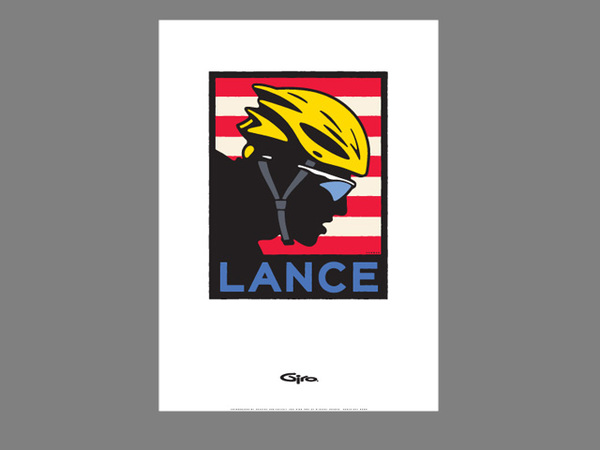 Lance Armstrong Poster Michael Schwab