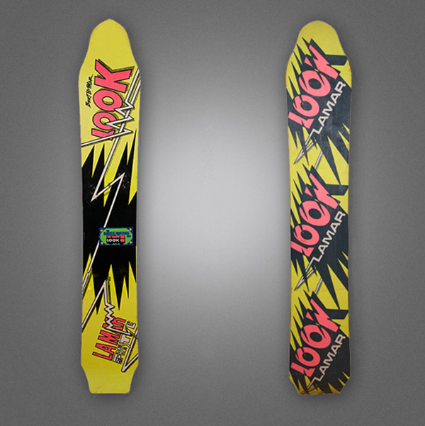Look LaMar Snowboards Graphics