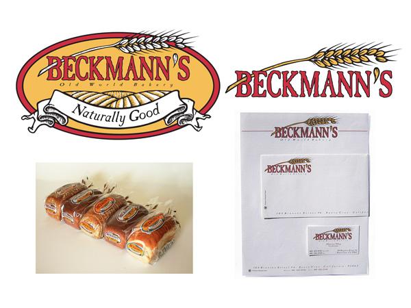 Beckmann' Bread Logo