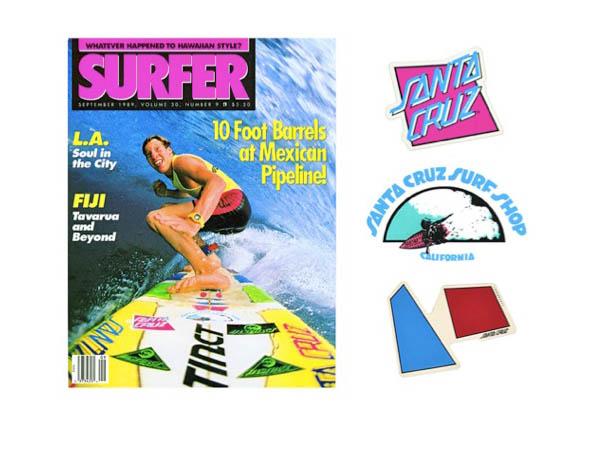 Santa Cruz Surfboard Surf Shop logo