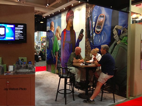 Magellan GPS Outdoor Retailer trade show