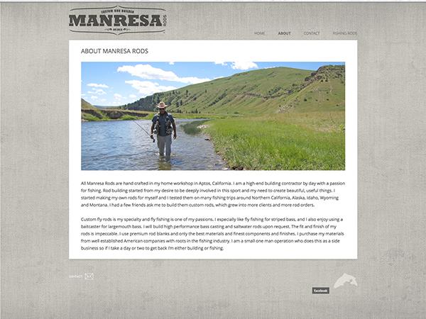 Manresa Rods rod webpage