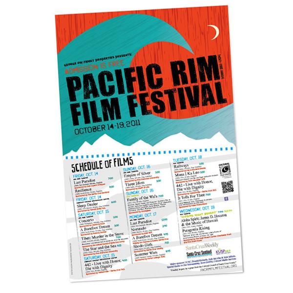 Pacific Rim Film Festival Poster