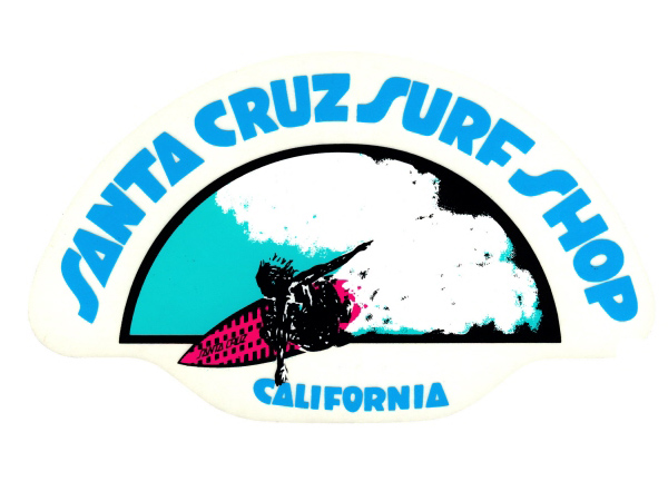 Santa Cruz Surfboard Sticker