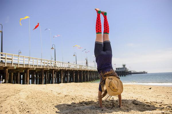 Socksmith Design Santa Cruz Beach