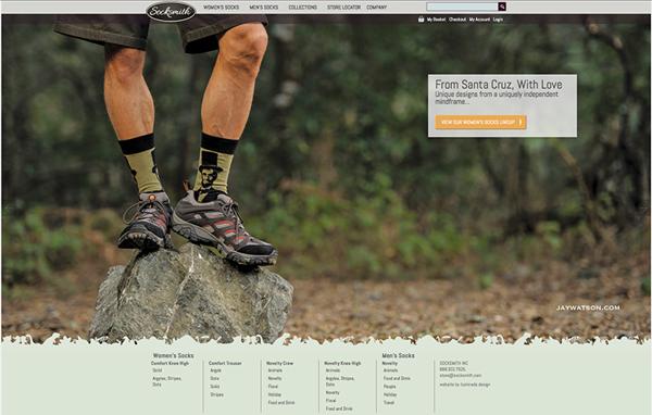 Socksmith Design Website Lincoln Sock