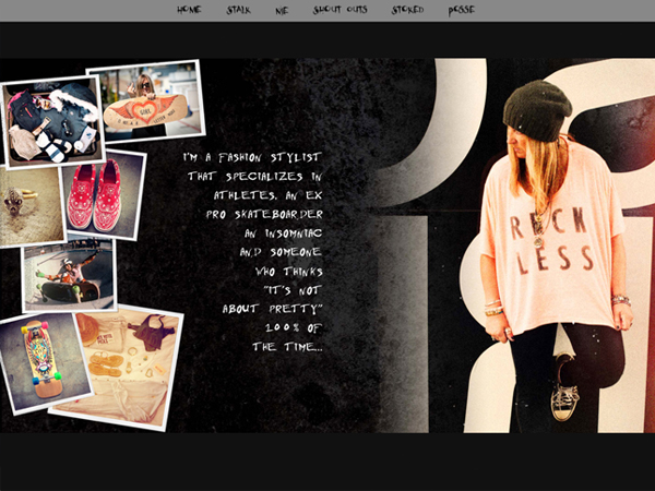 Cindy Whitehead Blog design