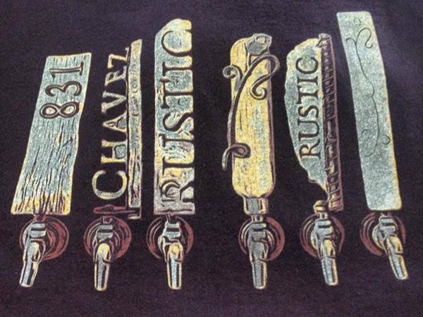 Sante Adairius Rustic Ales new t shirt design