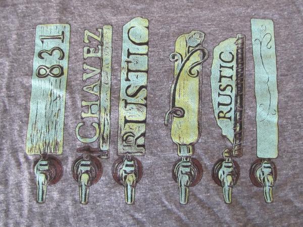 Sante Adairius Rustic Ales t shirt