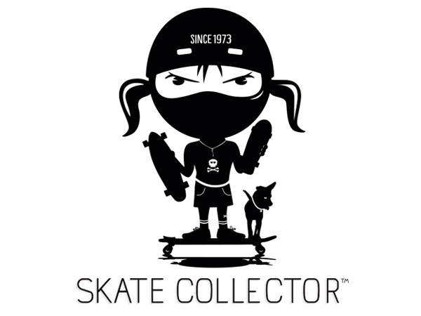 Skatecollector logo design