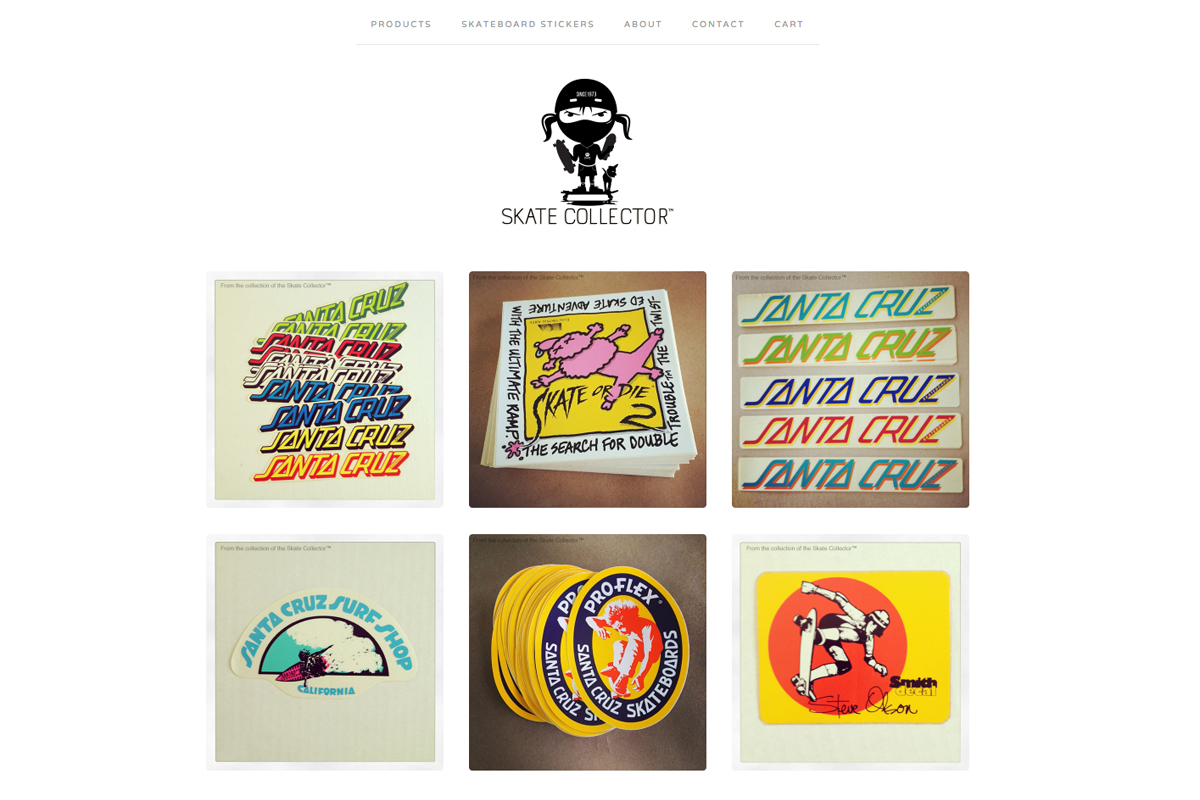 skate collector website