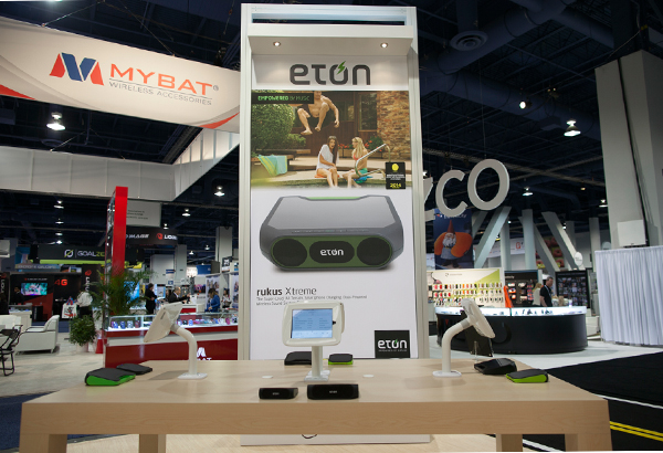 Eton CES 2014 Booth photos