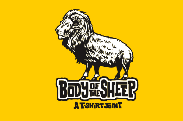 Body of the Sheep logo by Jimbo Phillips