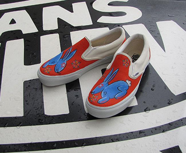 Steve Caballero custom Vans
