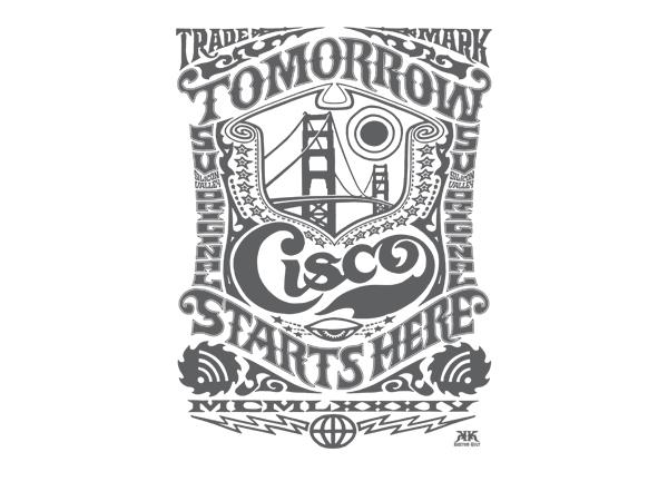 Cisco t-shirt Design Kustom