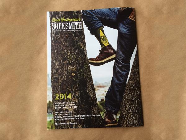 Socksmith catalog design photography Jay Watson