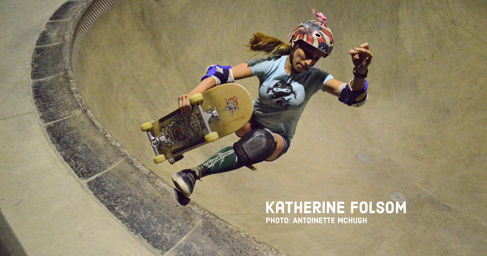 Badass Skatemom Katherine