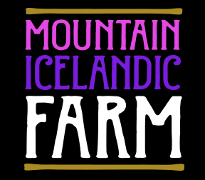 Maximum Impact Design new Mountain Icelandic Farms wine label.